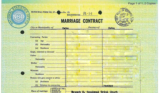 Pinoy Tutorials How to Apply for a Marriage Contract in the Philippines - marriage contract