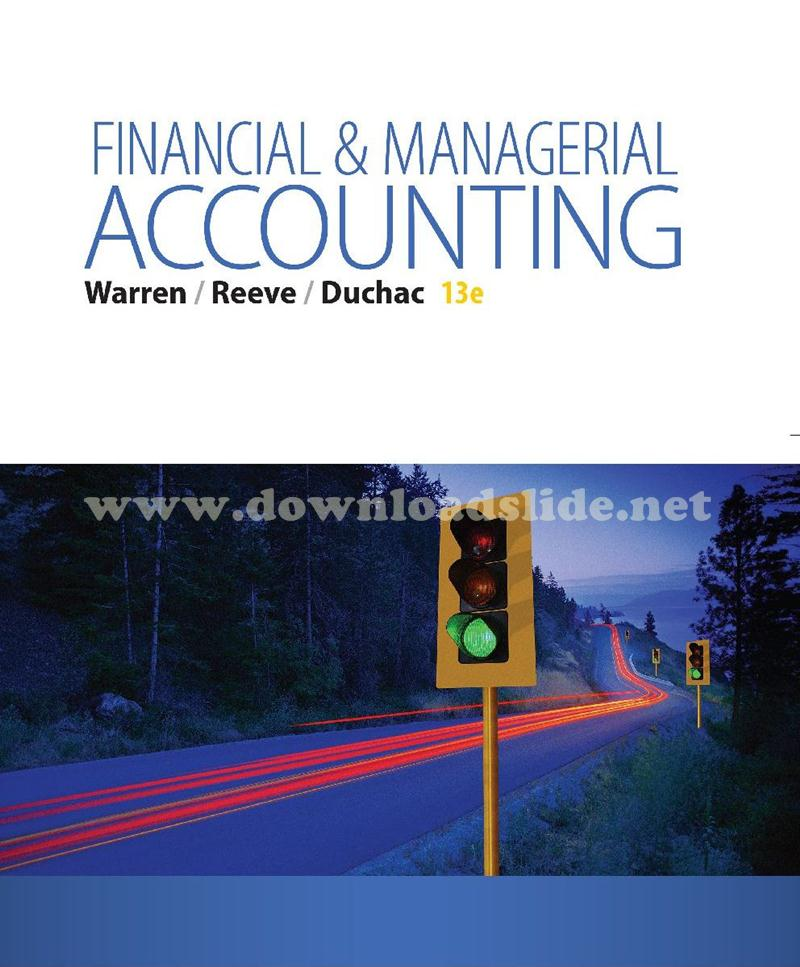 Financial & Managerial Accounting 17th Edition Pdf