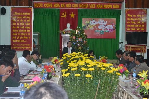 UBND huyện Lý Sơn tổ chức hội nghị trực báo đầu năm 2016