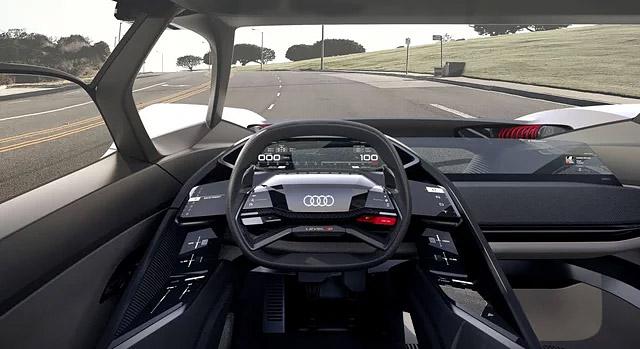 Audi PB18 etron interior