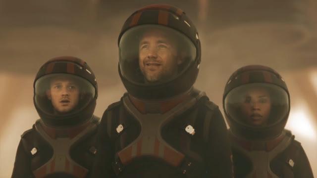Astronauts - image from Season 2 of NatGeo MARS TV series