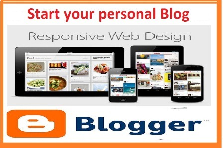 Start your own blogger blog