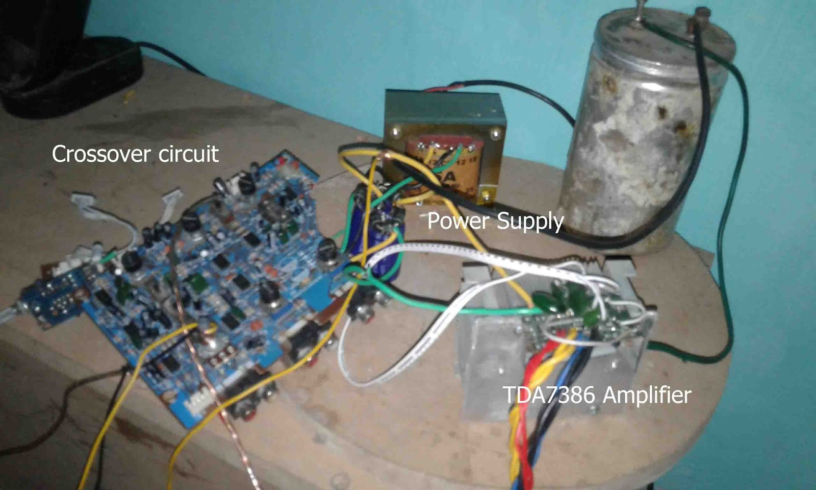 Making Surround Amplifier TDA7386 4 Channel - Electronic ...