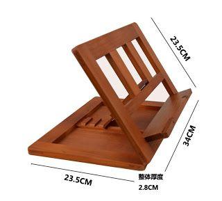 Invento en madera para lectores