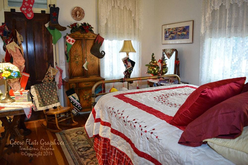 The Road  Tombstone Historic Home Tour This is the bedroom in the Wyatt Earp house