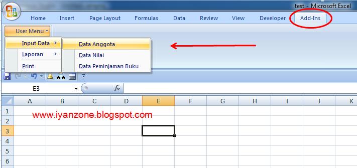 Tutorial Membuat Menu Baru Di Worksheet Menu Bar Excel ...