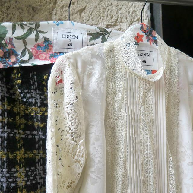 חולצה לבנה מתחרה מהשתפ של erdem ו h&m