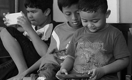 anak kecanduan game online