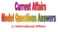 TNPSC Current Affairs Model Questions Answers 2017: Part 2 (International, National Affairs)