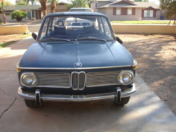 Needs Restoration, 1968 BMW 02 Series