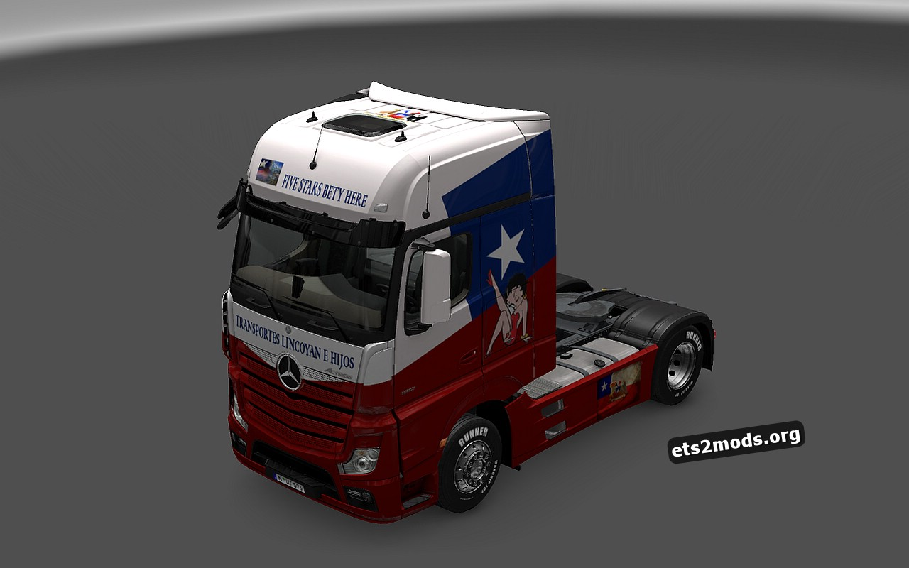 Mercedes MP4 Chile Skin
