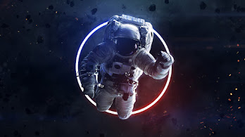 Astronaut, Space, Digital Art, 4K, #4.768