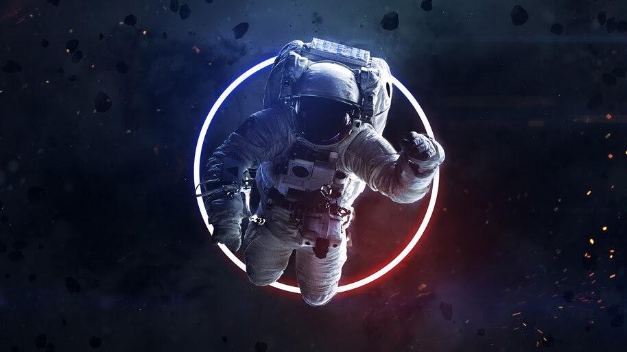 Astronaut Space Digital Art 4k Wallpaper 4 768
