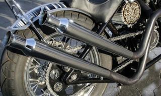 sportster chopper californian style with girder fork