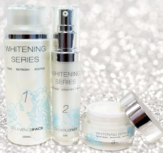celevenus face whitening series