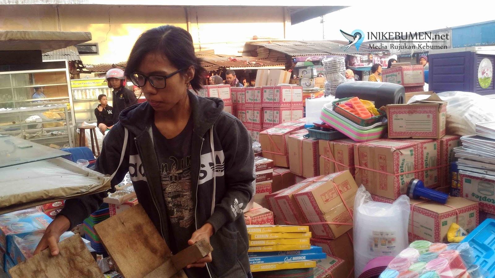 Jarah Korban Kebakaran Pasar Wonokriyo Gombong Warga Banyumas Ditangkap Polisi