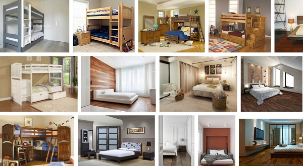 Kumpulan Tempat Tidur 2 Tingkat Kayu Dan Besi Untuk Kamar Minimalis