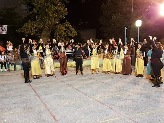Με επιτυχία και φέτος το Φεστιβάλ Παραδοσιακών Χορών στην Καλλιθέα Βέροιας