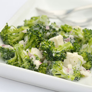 Amish Broccoli and Feta Salad