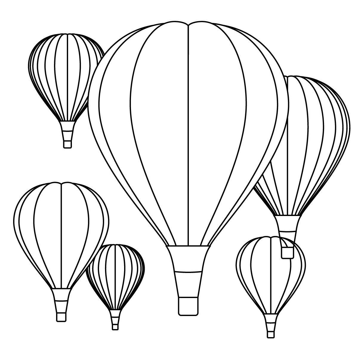 a school of fish  hot air balloon unit