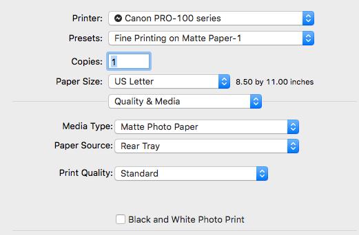 Claire Lordon Design: Canon Pixma Pro-100 Printer Review