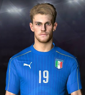 PES 2017 Faces Daniele Rugani by Facemaker Ahmed El Shenawy