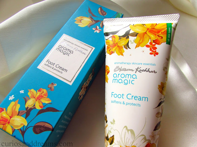 Aroma Magic Nourishing Hand Cream review, Aroma Magic Foot Cream review