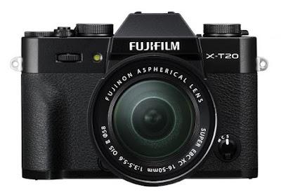 رسمياً: فوجي فيلم تُعلن عن كاميرا Fuji X-T20
