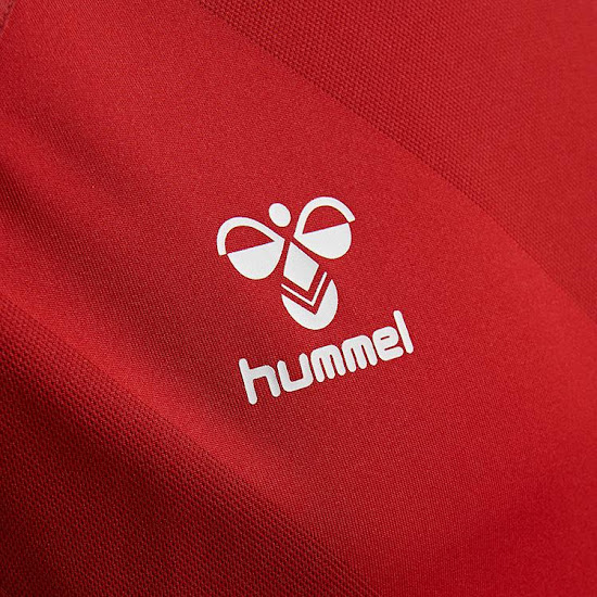 Hummel Denmark 2018 World Cup Home   Away Kits Released - Footy ... 52e654682