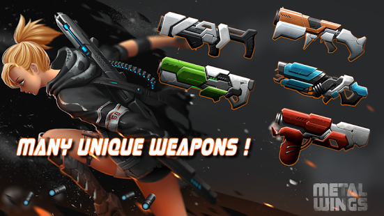 Metal Wings: Elite Force v4.2 Mod Free Shopping For Android