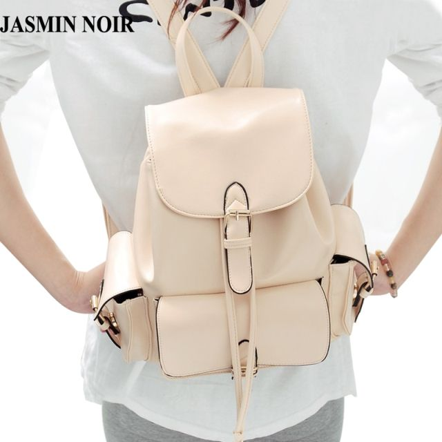 Creme backpack