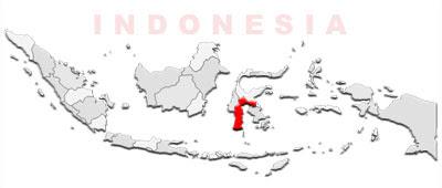 image: South Sulawesi Map location