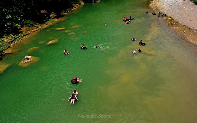 River Tubing di Sungai Oya, Imogiri