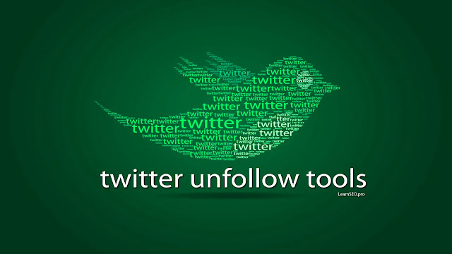 twitter unfollow tools