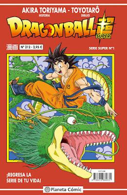 COMIC - Dragon Ball Super Serie Roja nº 212 Toyotaro & Akira Toriyama (Planeta - 21 Marzo 2017) Edición en español COMPRAR EN AMAZON ESPAÑA
