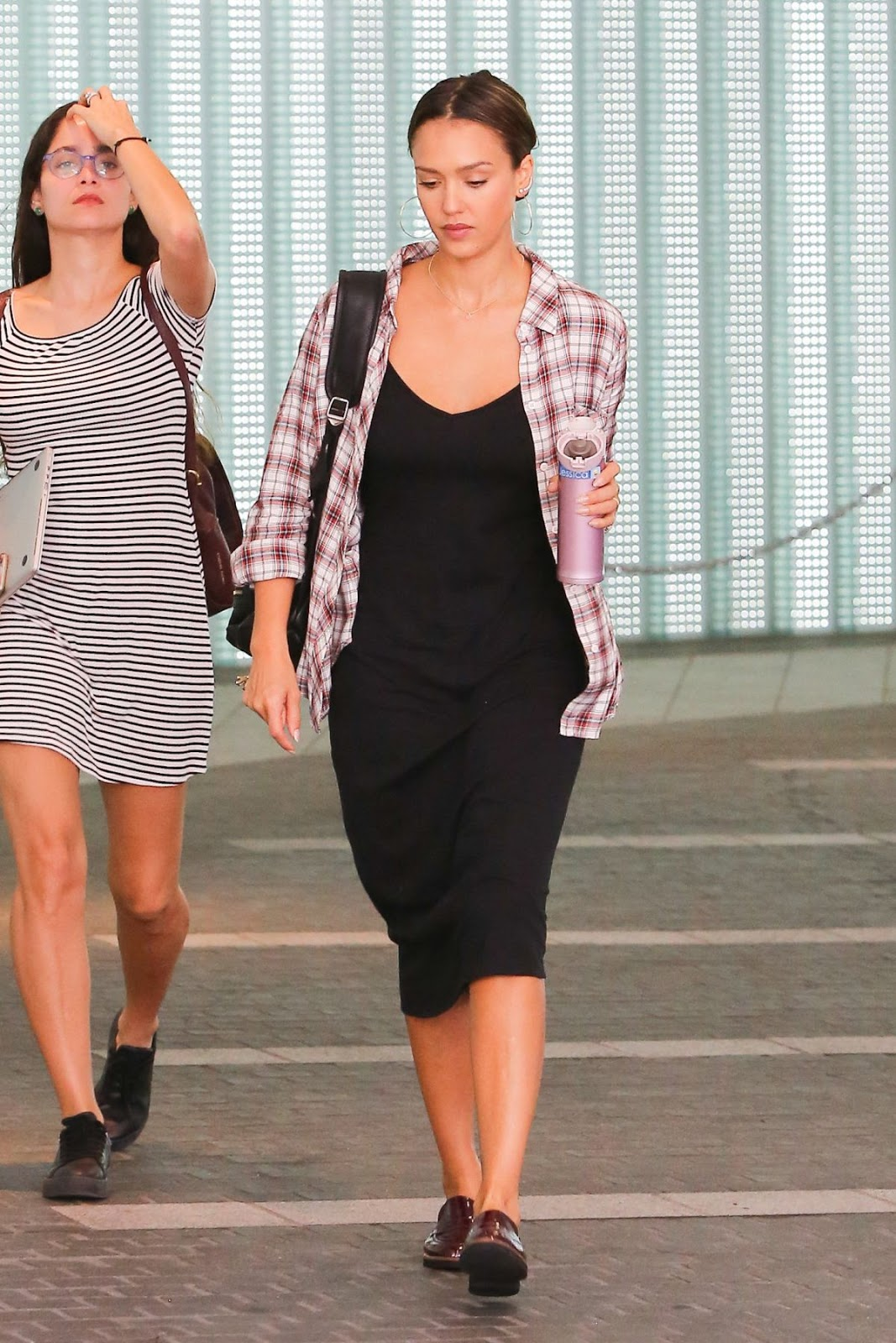 Jessica Alba at A Business Meeting at Pacific Design Center at West Hollywood