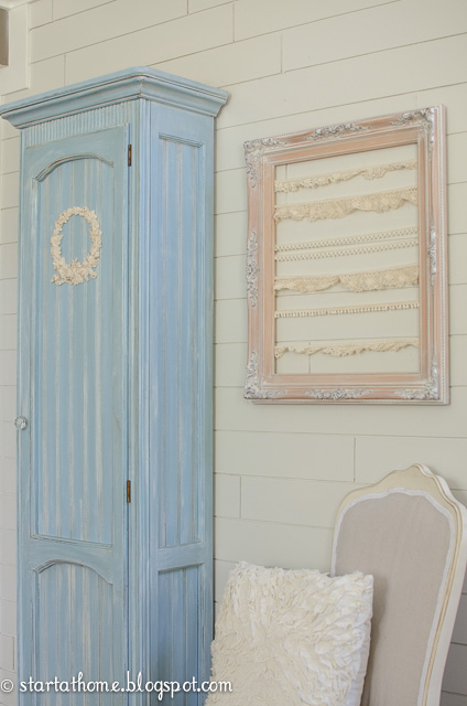 DIY Chalky Finish Curio Cabinet | Start at Home Decor
