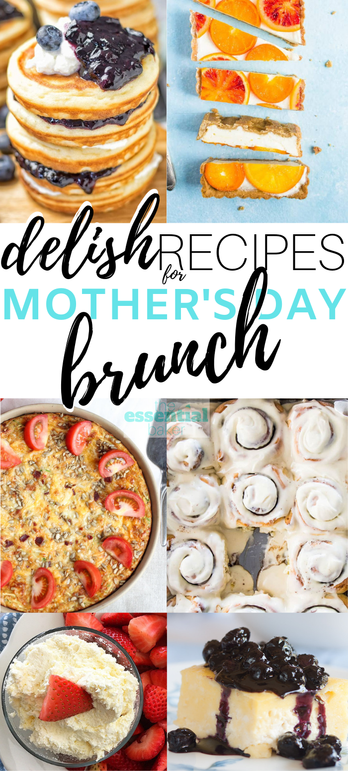RECIPES FOR MOTHER'S DAY BREAKFAST IN BED (OR BRUNCH!)
