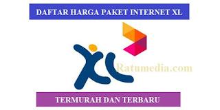 Paket internet termurah XL Terbaru 2019