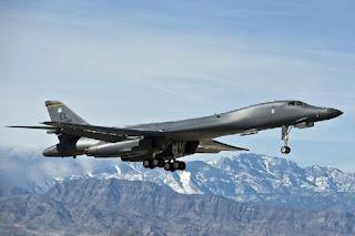 Pembom B-1B Lancer USAF