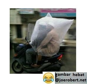 jas hujan lucu