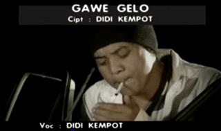 Lirik Lagu Gawe Gelo - Didi Kempot