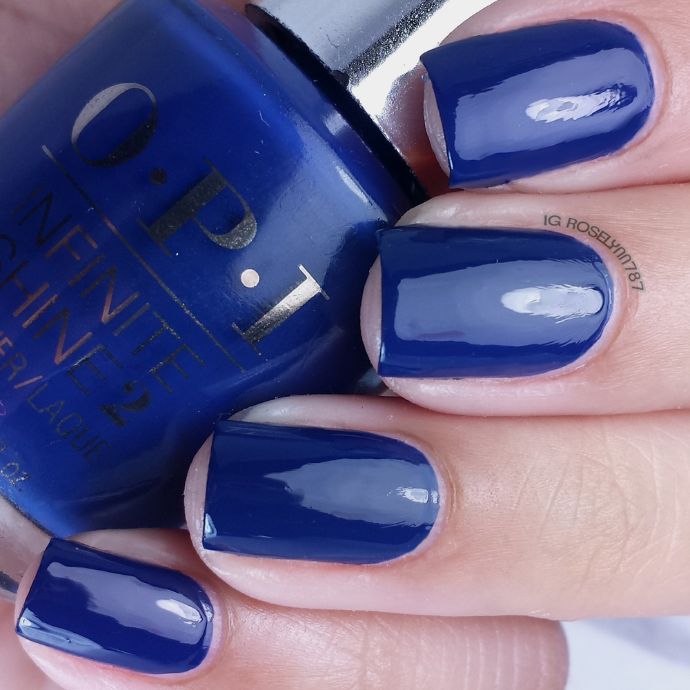 OPI Infinite Shine - Get Ryd-of-thym Blues