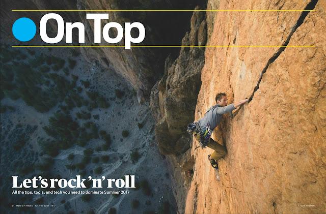 Rock climbing at Smith Rock State Park. Climber: Jesse Bernier Photo: Tyler Roemer