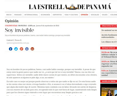 Soy invisible
