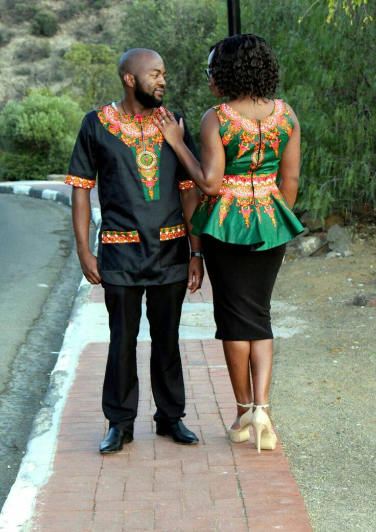 Beautiful African Couple Outfits Fashenista