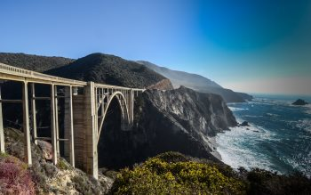 Wallpaper: Bixby Bridge - Big Sur