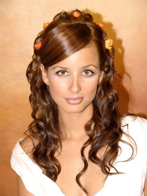 Formas de moda también peinados para fiestas Fotos de cortes de pelo tutoriales - Peinados a la Moda: Sencillos Peinados para fiestas ...