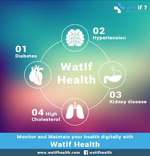 Health App for diabetes