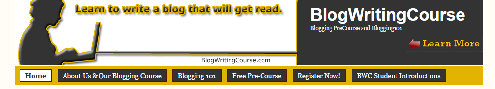Blog Writing Course Logo